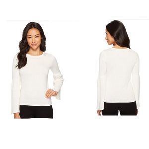 NWOTs VINCE CAMUTO Ivory Bell Sleeve Sweater